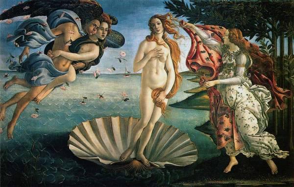 Boticeli - rodjenje Venere
