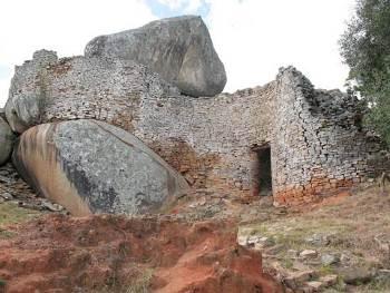 Veliki Zimbabve - Akropolj