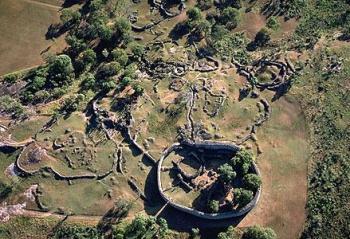 Veliki Zimbabve - deo kompleksa