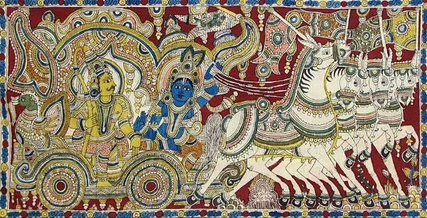 krishna i arjuna
