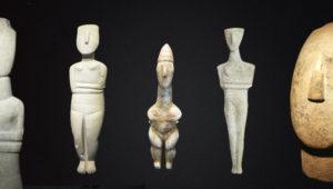 Kikladske-figure