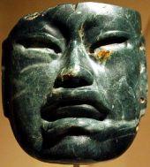 Maska od žada,1000 – 600 p.n.e.Muzej Metropoliten, Njujork