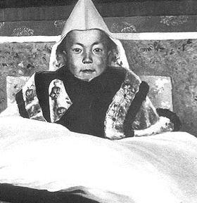 Dalaj Lama na ceremoniji pri ustolicenju
