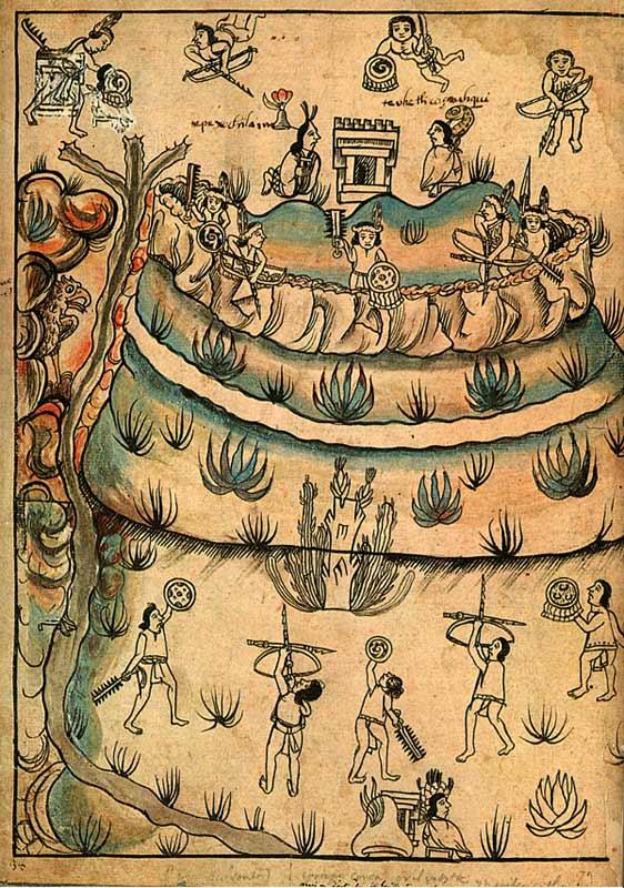 Chichimeca - Istorija Tolteka