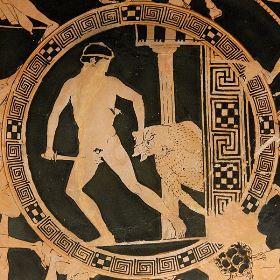 Tezej i Minotaur