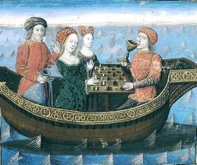 Tristan i Izolda u barci