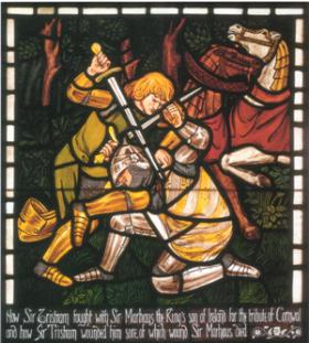 Tristan pobedjuje Morolta