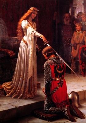 dama i vitez