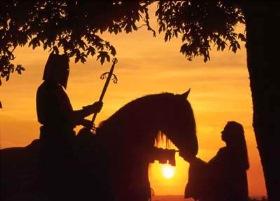 vitez i dama