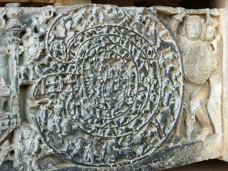 Abimaniu ulazi u Čakraviuhu