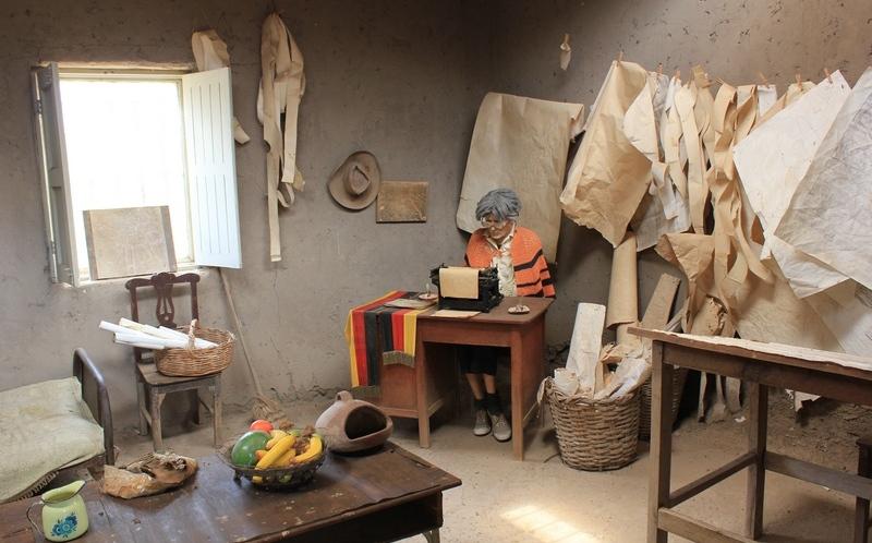 Marija Rajhe, Muzej vostanih figura, Naska, Peru