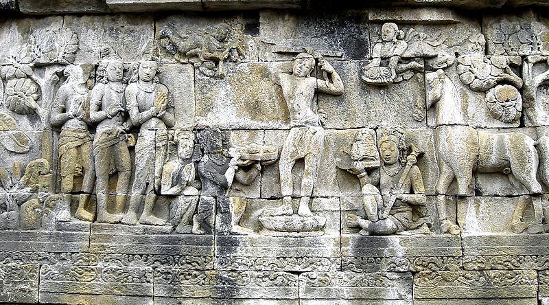 Sidarta Gautama u Borobuduru
