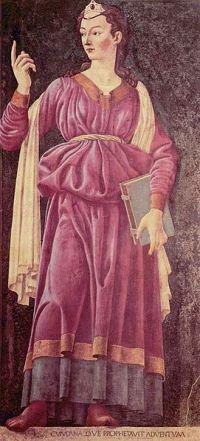 Sibila Kumanska, Andrea del Kastanjo