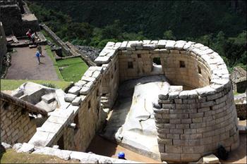 Toreon, središnja uaka (huaca) grada, Maču Pikču