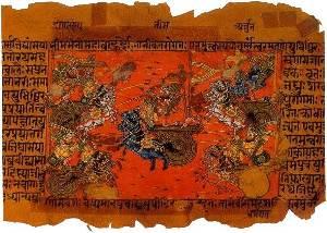 Mahabharata manuskript