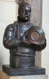 Vinčesterska katedrala -statua Viliema Vokera