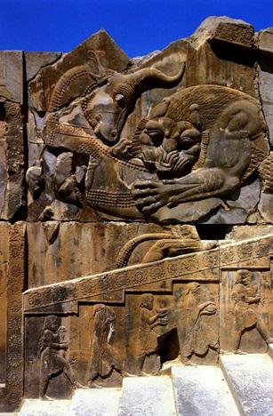Persepolis-lav-ubija-bika