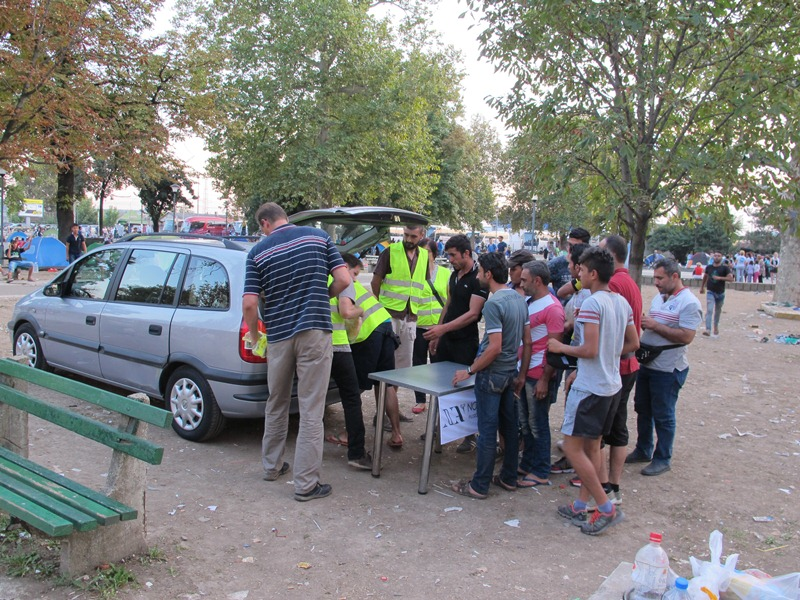 Humanitarna akcija pomoc migrantima