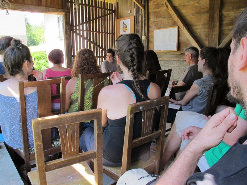 predavanje na selu