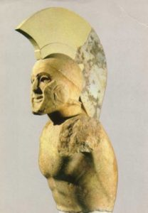 Sparta hoplit Tirtej